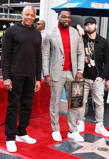Dr Dre, Curtis [50 Cent] Jackson, Eminem