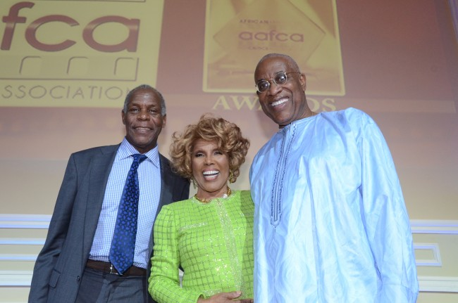 PAFF co-founders Danny Glover, Ja'Net Dubois and Ayuko Babu, photo by Royalty Image