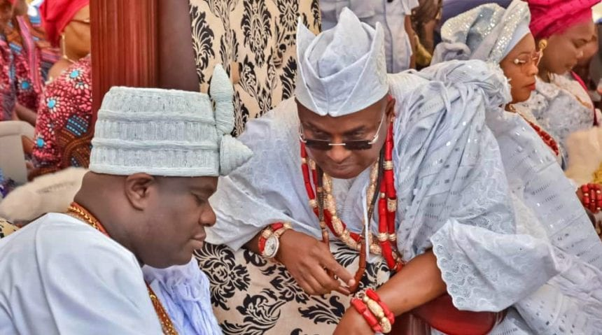 Ooni of Ife crowns Oba Adenekan Afolabi