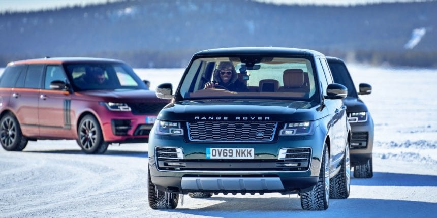 Golden Jubilee of Range Rover
