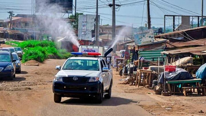 Ile-ife fumigation