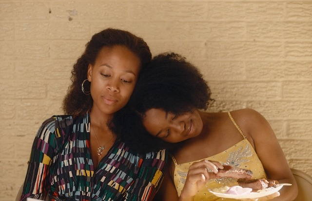 L-R; Nicole Beharie as Turquoise and Alexis Chikaeze as Kail