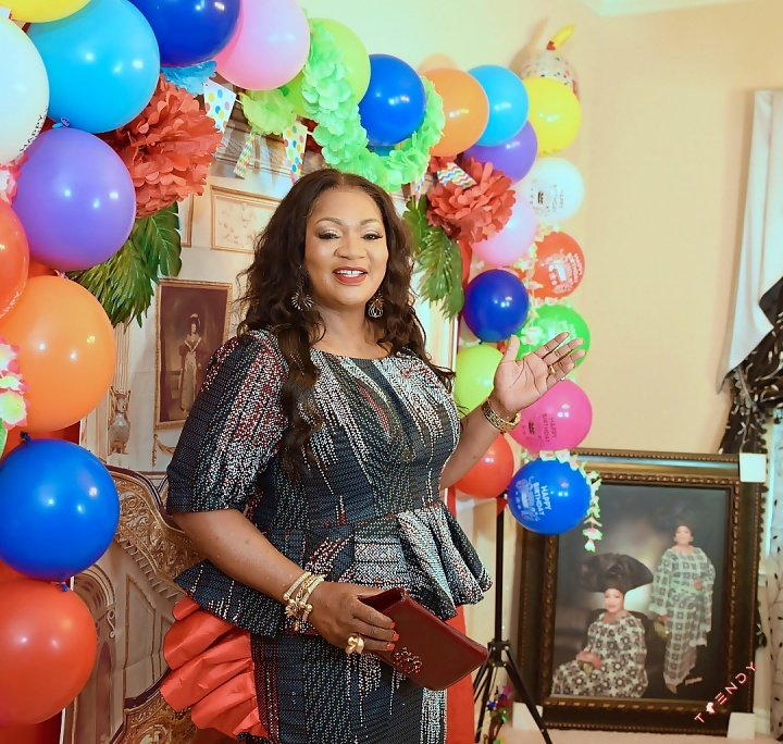 Helen Famuwagun at 60
