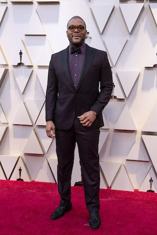 Producer, director, actor, writer, entrepreneur and philanthropist Tyler Perry