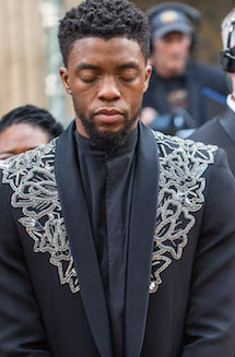 Chadwick Boseman received a posthumous award