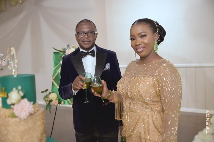 Mr. and Mrs. Oyeniya
